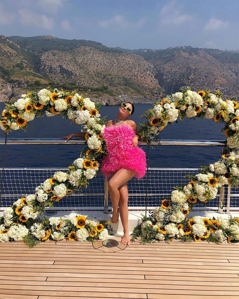 Kylie Jenner, 22nd Birthday, Italy, Instagram