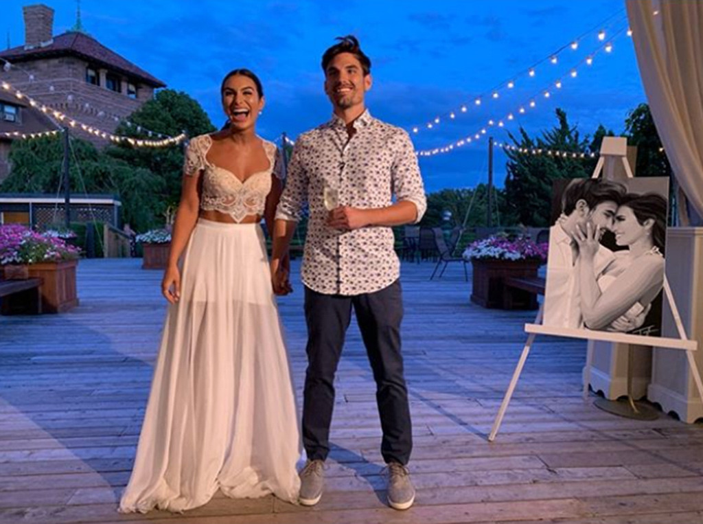 Ashley Iaconetti, Jared Haibon, Wedding, Rehearsal, Bachelor, Bachelorette, Instagram