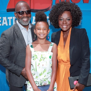 Viola Davis, Julius Tennon and Genesis Tennon