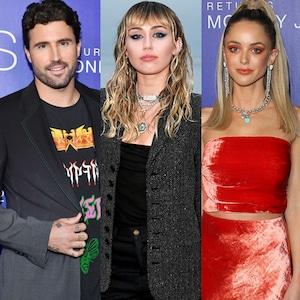Brody Jenner, Miley Cyrus, Kaitlynn Carter