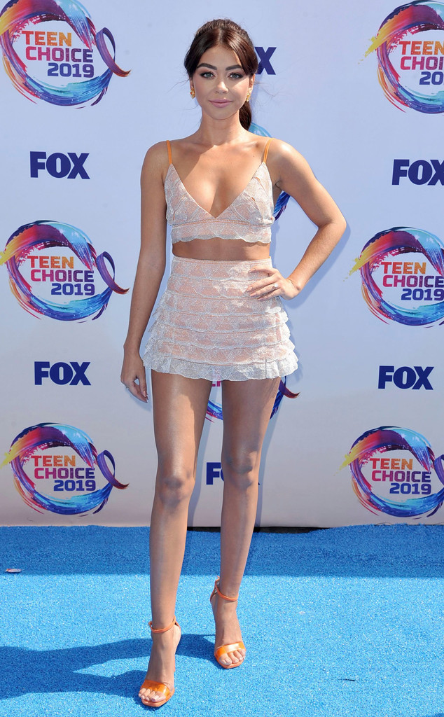 Sarah Hyland, 2019 Teen Choice Awards, Arrivals