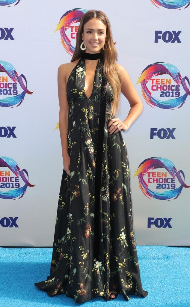 Jessica Alba, 2019 Teen Choice Awards, Arrivals