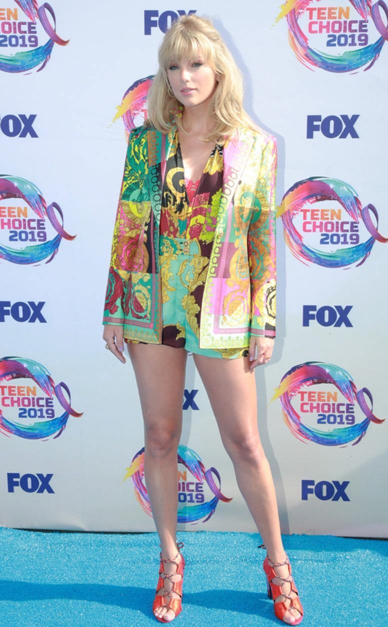 Taylor Swift, 2019 Teen Choice Awards, Arrivals