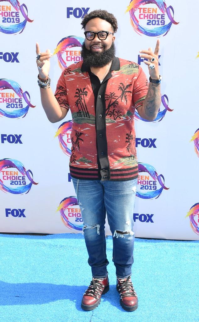 Blanco Brown, 2019 Teen Choice Awards, Arrivals