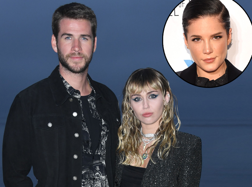 Miley Cyrus, Liam Hemsworth, Halsey