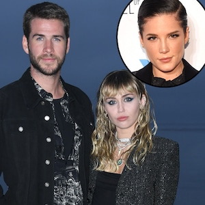 Miley Cyrus, Liam Hemsworth, Halsey