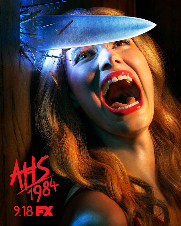 Image result for american horror story 1984 poster