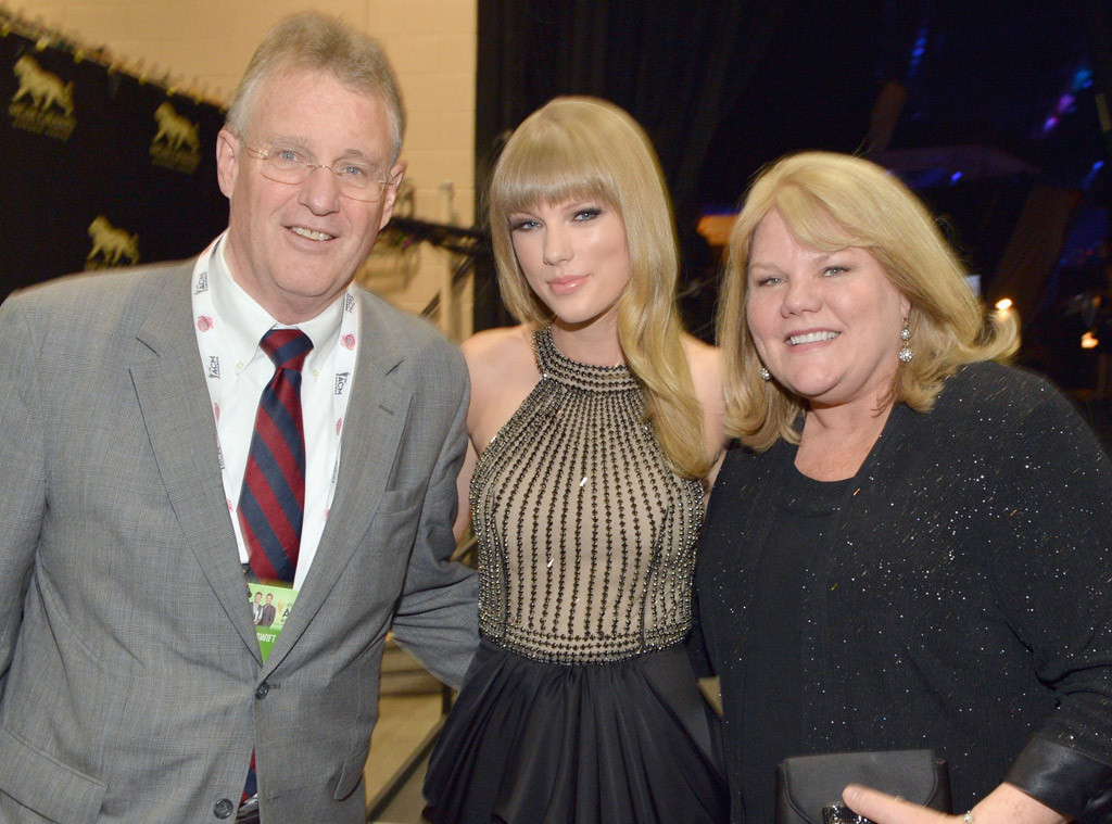 Andrea Swift, Taylor Swift, Scott Swift