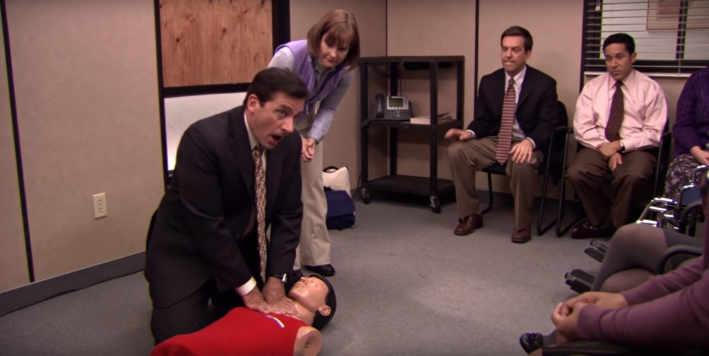 Michael Scott, The Office, CPR