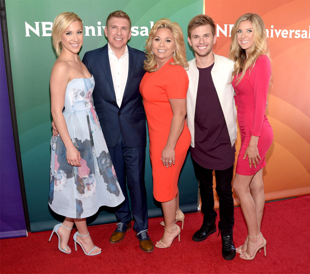 Savannah Chrisley, Todd Chrisley, Julie Chrisley, Chase Chrisley, Lindsie Chrisley