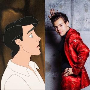 Harry Styles, principe Eric