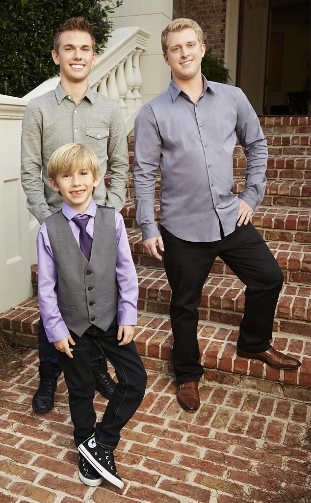 Grayson Chrisley, Chase Chrisley, Kyle Chrisley