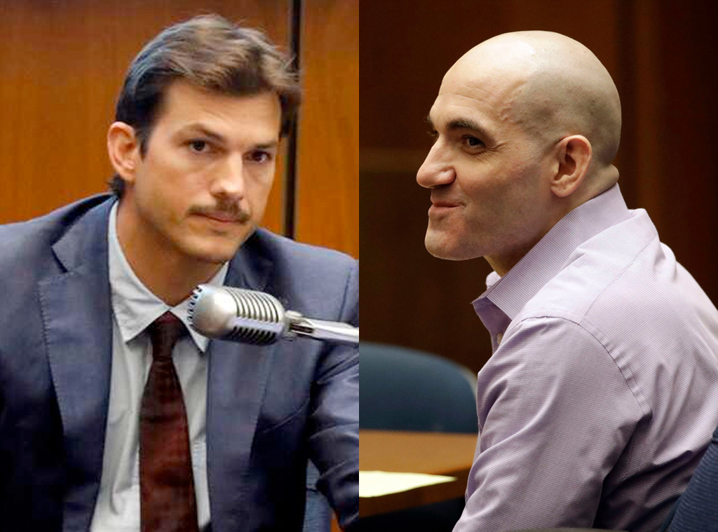 Ashton Kutcher, Michael Gargiulo, Court