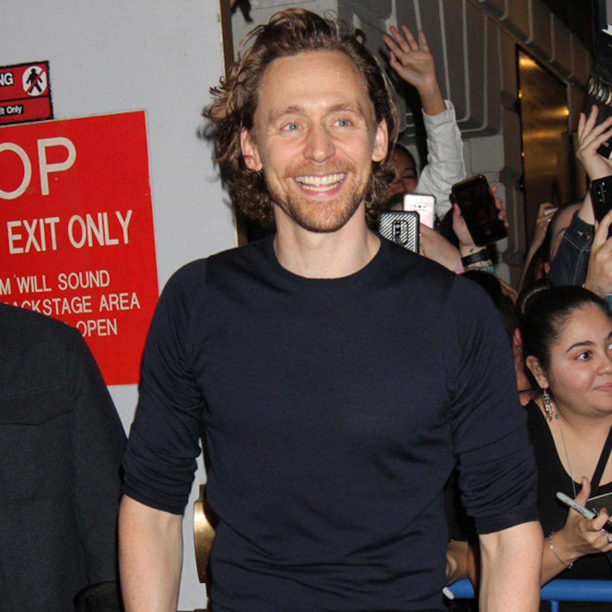 View Tom Hiddleston Long Hair  Gif