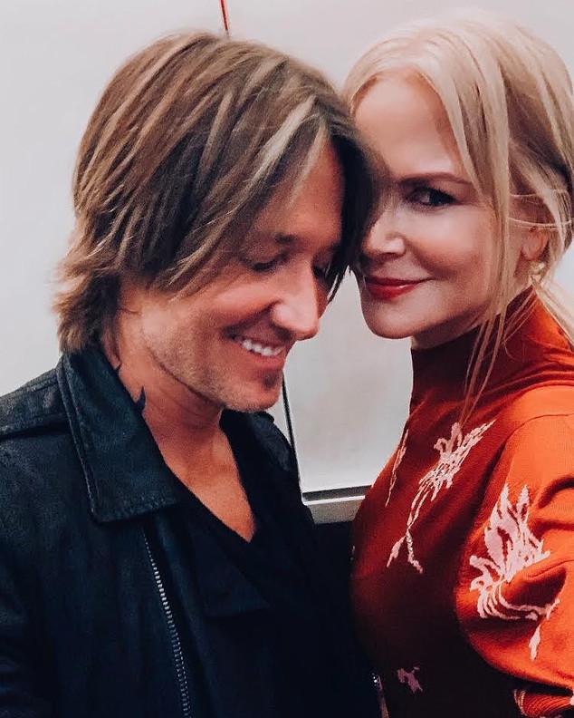 Nicole Kidman, Keith Urban, Instagram Selfie