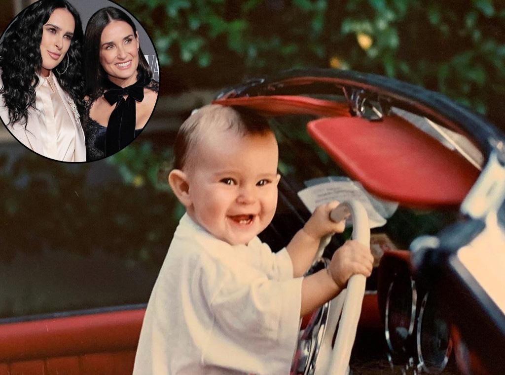Demi Moore, Rumer Willis, Throwback, Instagram