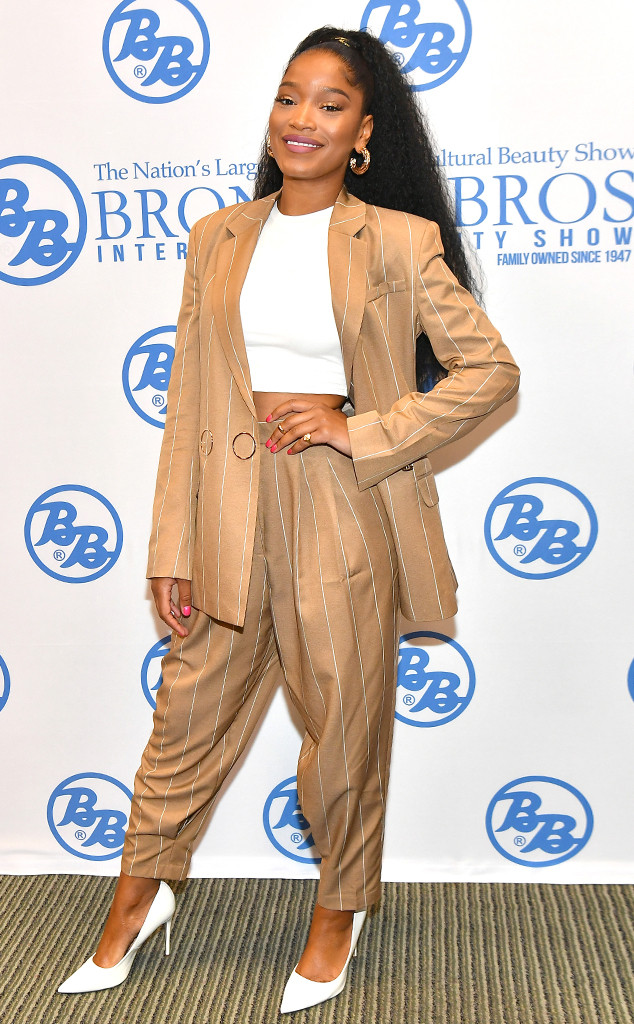 Keke Palmer, Fashion Police Widget
