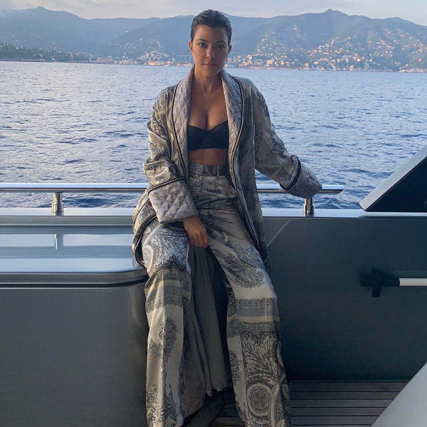 Kourtney Kardashian Claps Back After Trolls Say She Doesn't Work