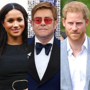 Meghan Markle, Elton John, Prince Harry