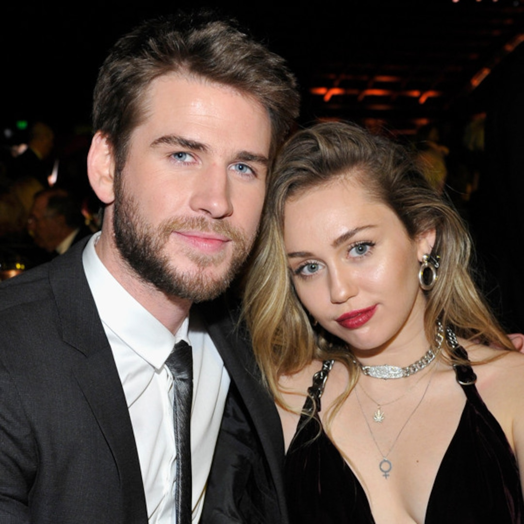 Miley Cyrus Pokes Fun at Liam Hemsworth Marriage in Message to TikTok Couple – E! NEWS