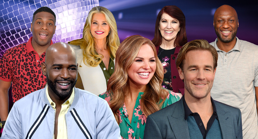 Hannah Brown, James Van Der Beek, Karamo Brown, Christie Brinkley, Kel Mitchell, Kate Flannery