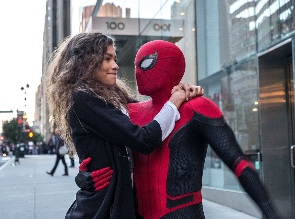 Zendaya, Tom Holland, Spiderman: Far From Home