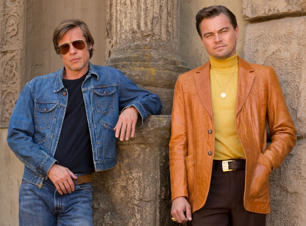 Brad Pitt, Leonardo DiCaprio, Once Upon A Time in Hollywood