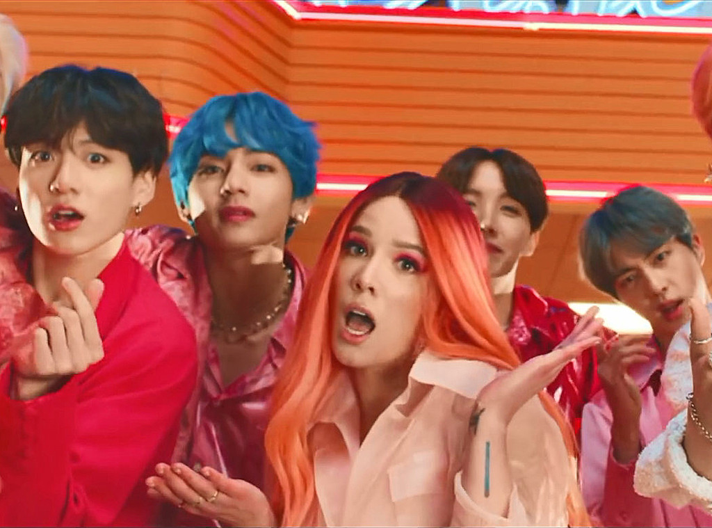 BTS, Halsey, Boy With Luv