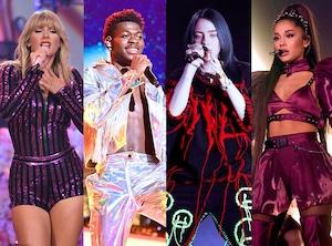 Taylor Swift, Ariana Grande, Billie Eilish, Lil Nas X