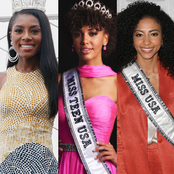 Miss America, Miss USA and Miss Teen USA Share Why Their Historic Pageant Wins Matter