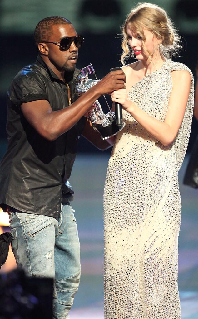 Kanye West, Taylor Swift, 2009 MTV Video Music Awards, VMAs