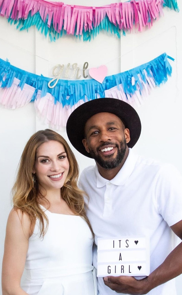"Allison Holker, Stephen ""tWitch"" Boss"