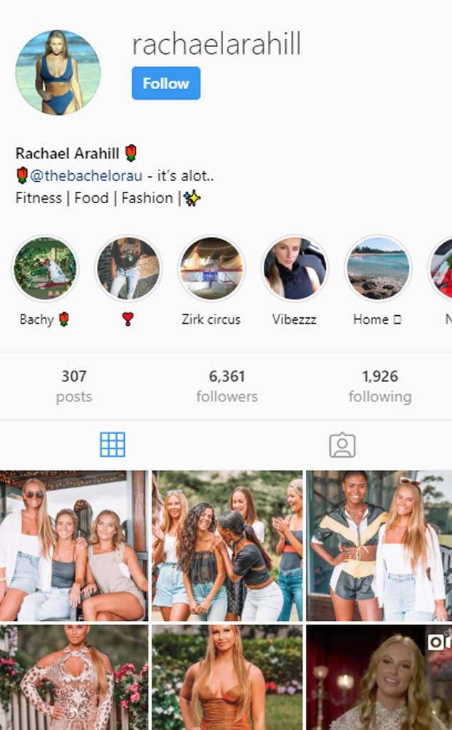 Rachael Arahill, The Bachelor Australia