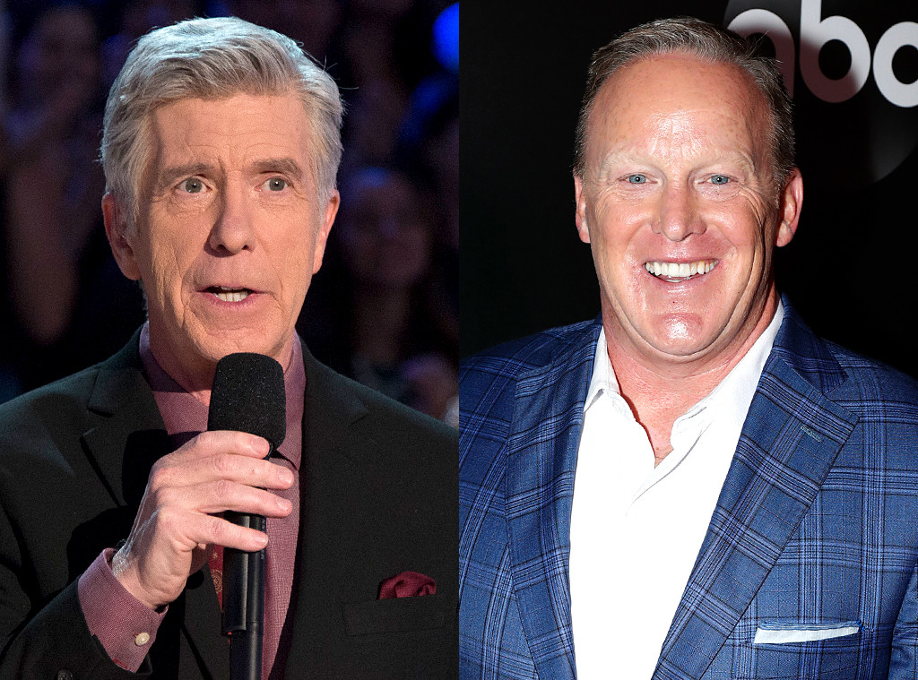 Tom Bergeron, Sean Spicer
