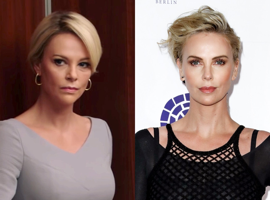 Charlize Theron Was ''S--t Scared'' to Play Megyn Kelly in Bombshell