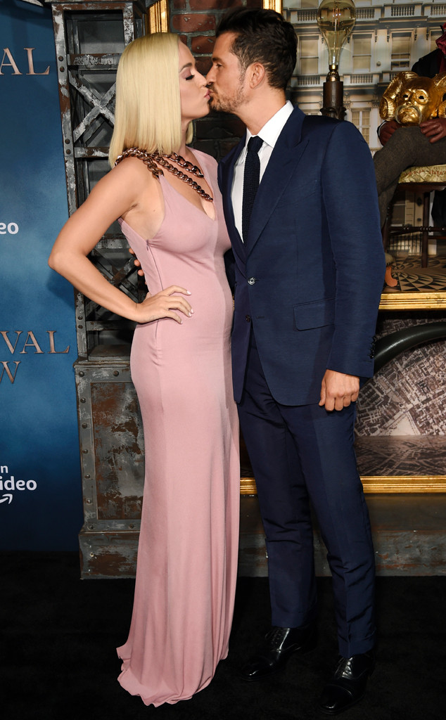 Orlando Bloom, Katy Perry, Carnival Row Premiere