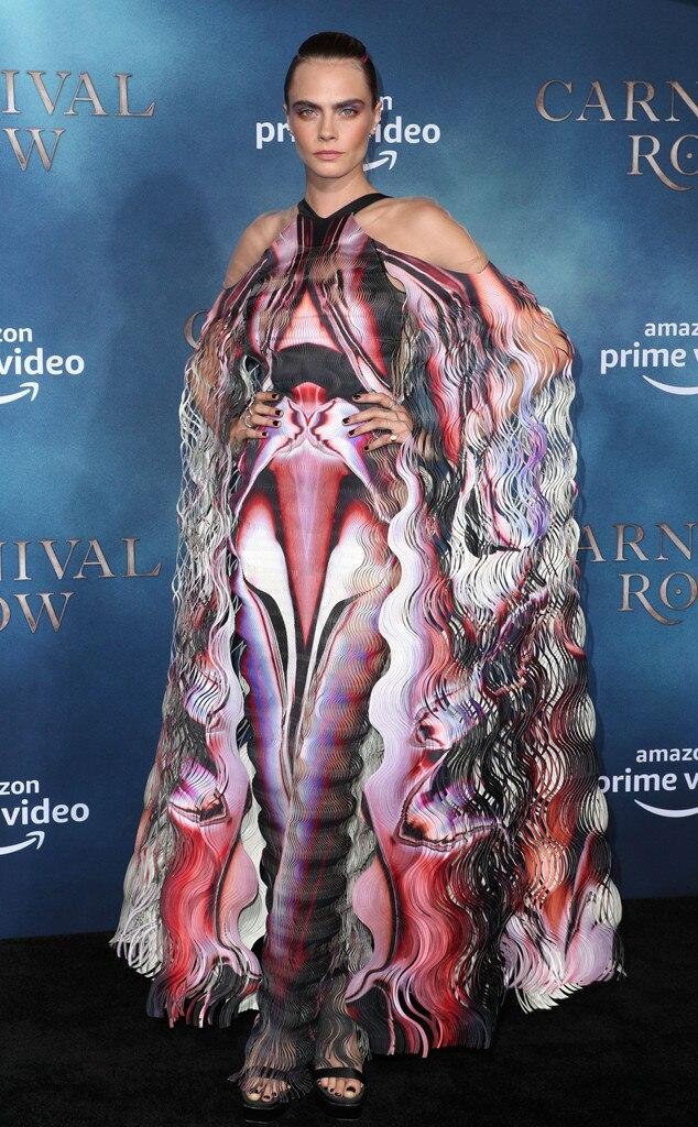 Cara Delevingne, Carnival Row Premiere, Fashion Police Widget