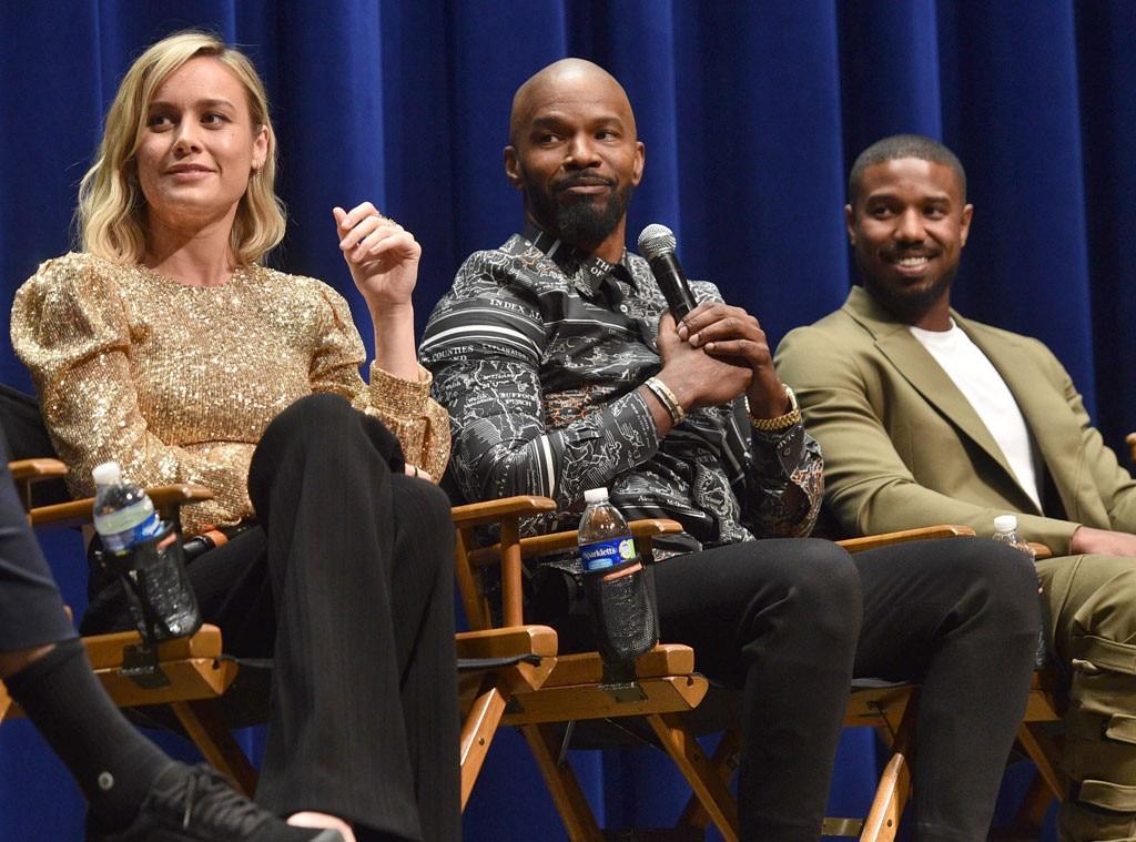 Brie Larson, Jamie Foxx, Michael B. Jordan