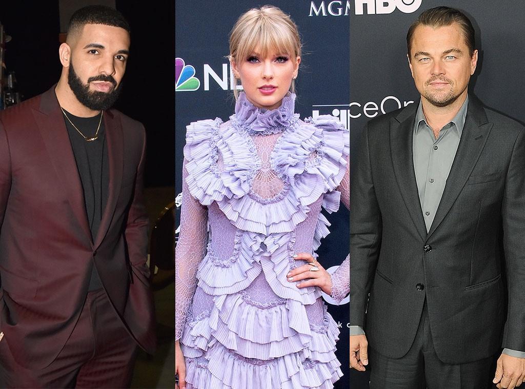 Drake, Taylor Swift, Leonardo Dicaprio