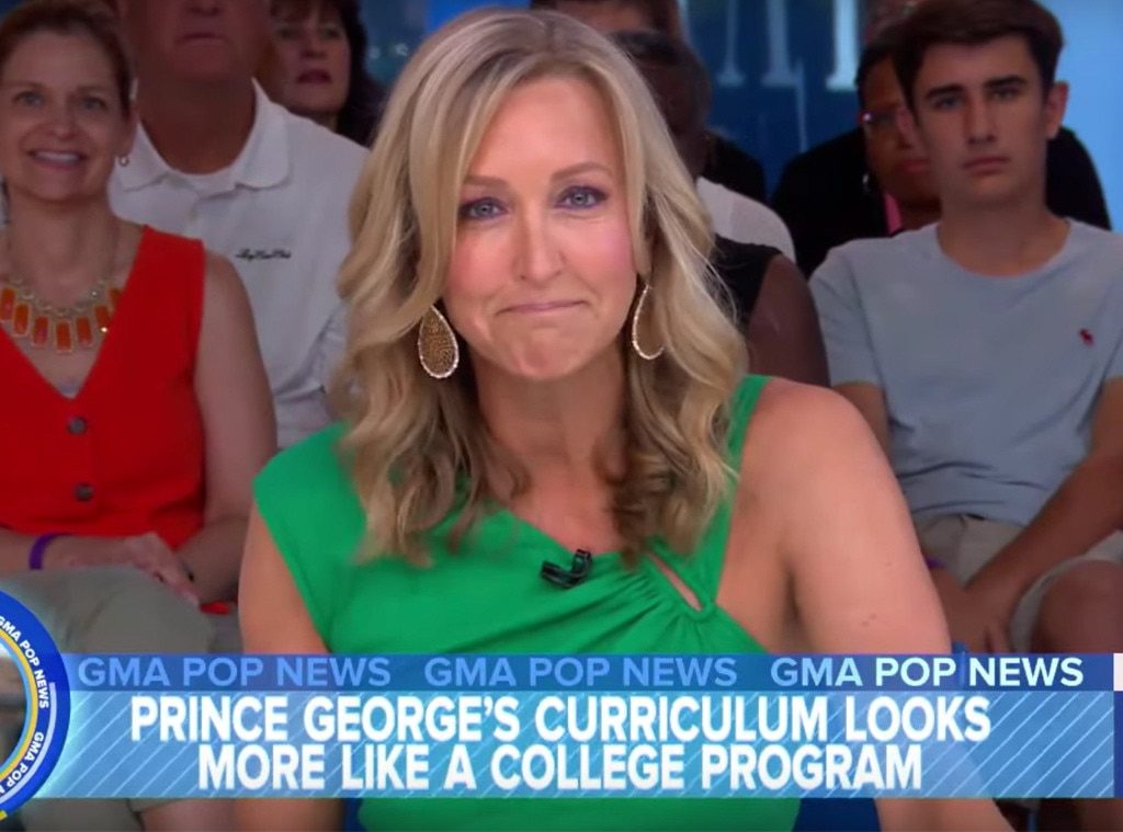 'GMA' host Lara Spencer apologizes for Prince George ballet joke