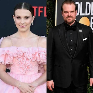 Millie Bobby Brown, David Harbour
