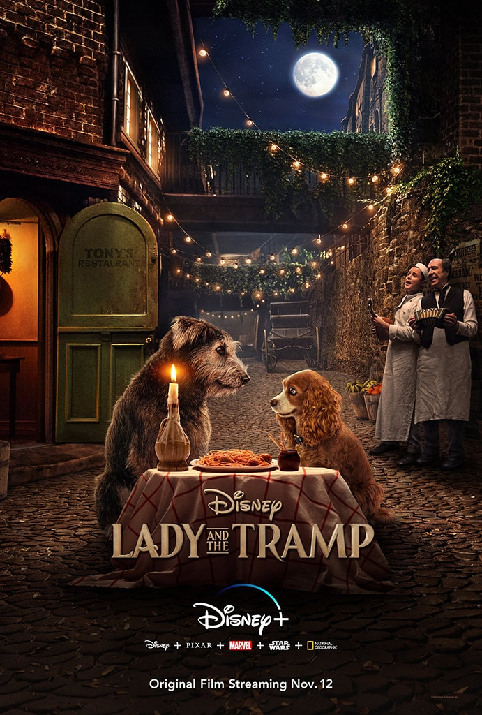 Lady and the Tramp, Disney+