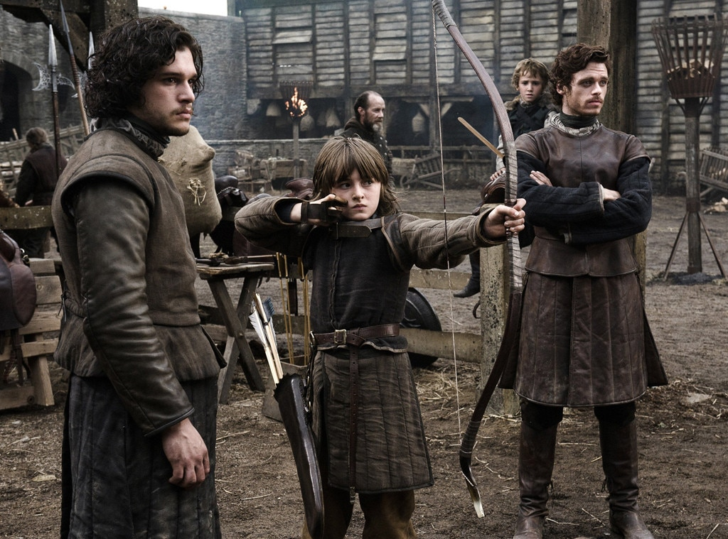 Kit Harrington, Richard Madden, Isaac Hempstead-Wright, Game of Thrones