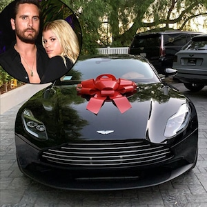 Scott Disick, Sofia Richie, 21st Birthday Aston Martin