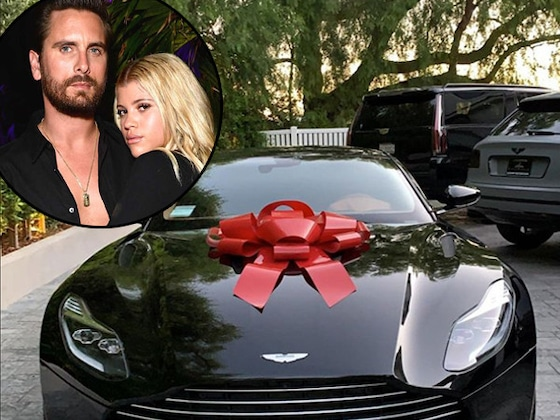 Scott Disick Surprises Sofia Richie With a James Bond Luxury Car for Her 21st Birthday