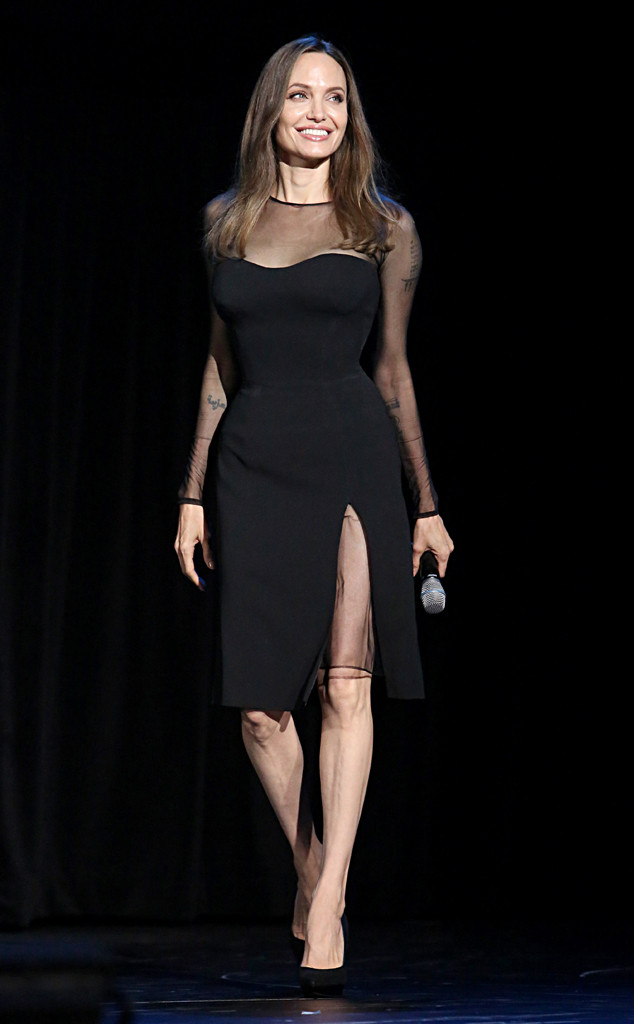 Angelina Jolie, D23 Expo 2019, Fashion Police Widget