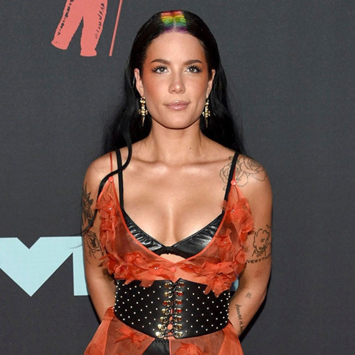 Halsey S Rainbow Part And More Standout Beauty Looks At The