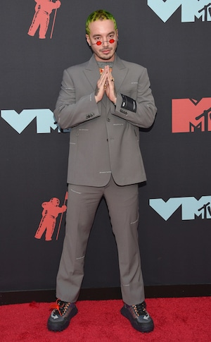 J Balvin, MTV Video Music Awards, MTV VMA's, Red Carpet Fashion