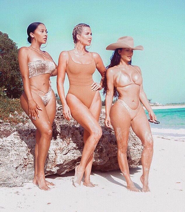 Kim Kardashian, Khloe Kardashian, La La Anthony, Instagram