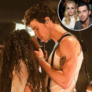 Shawn Mendes, Camila Cabello, Sophie Turner, Joe Jonas
